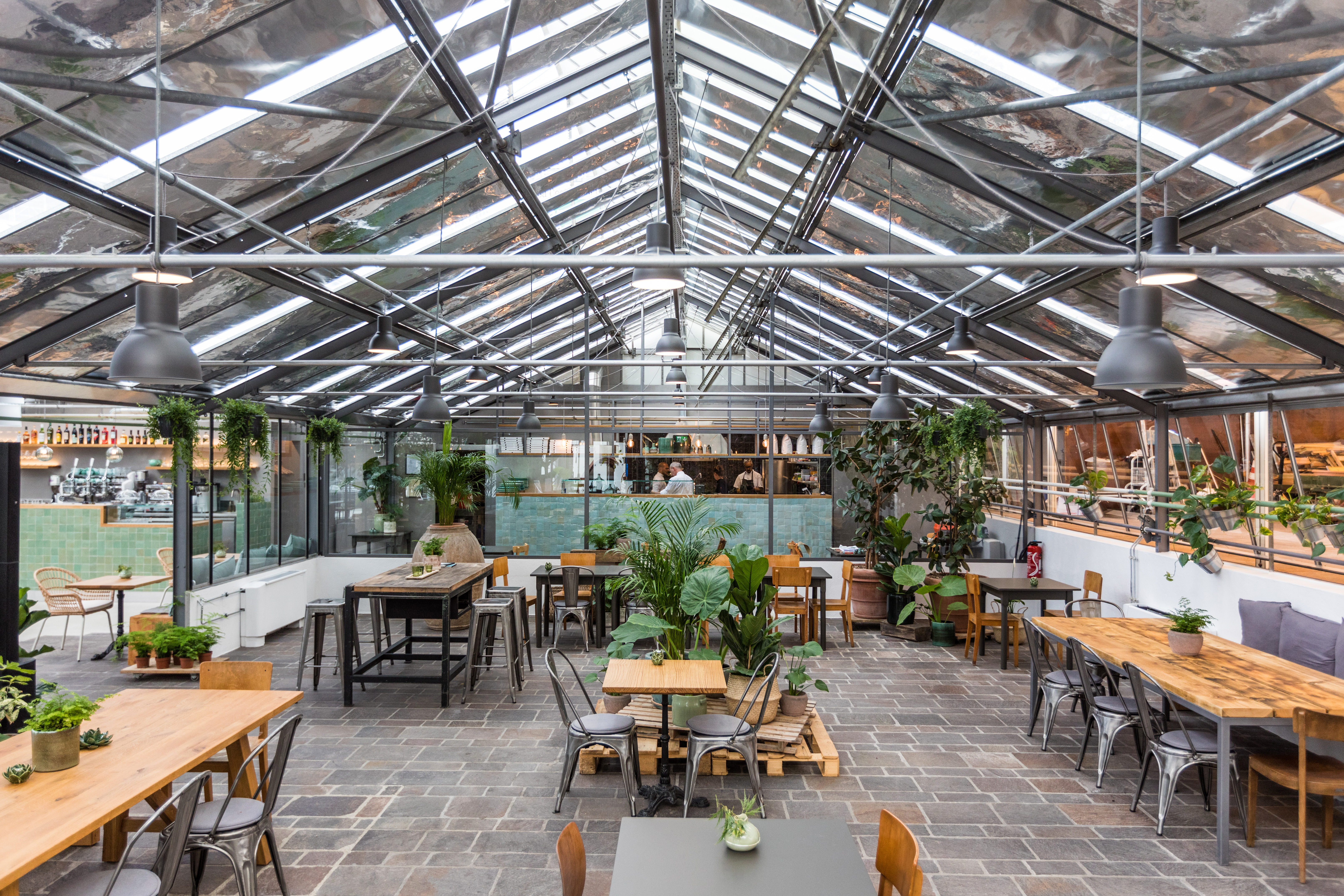 Restauration du restaurant La Serra