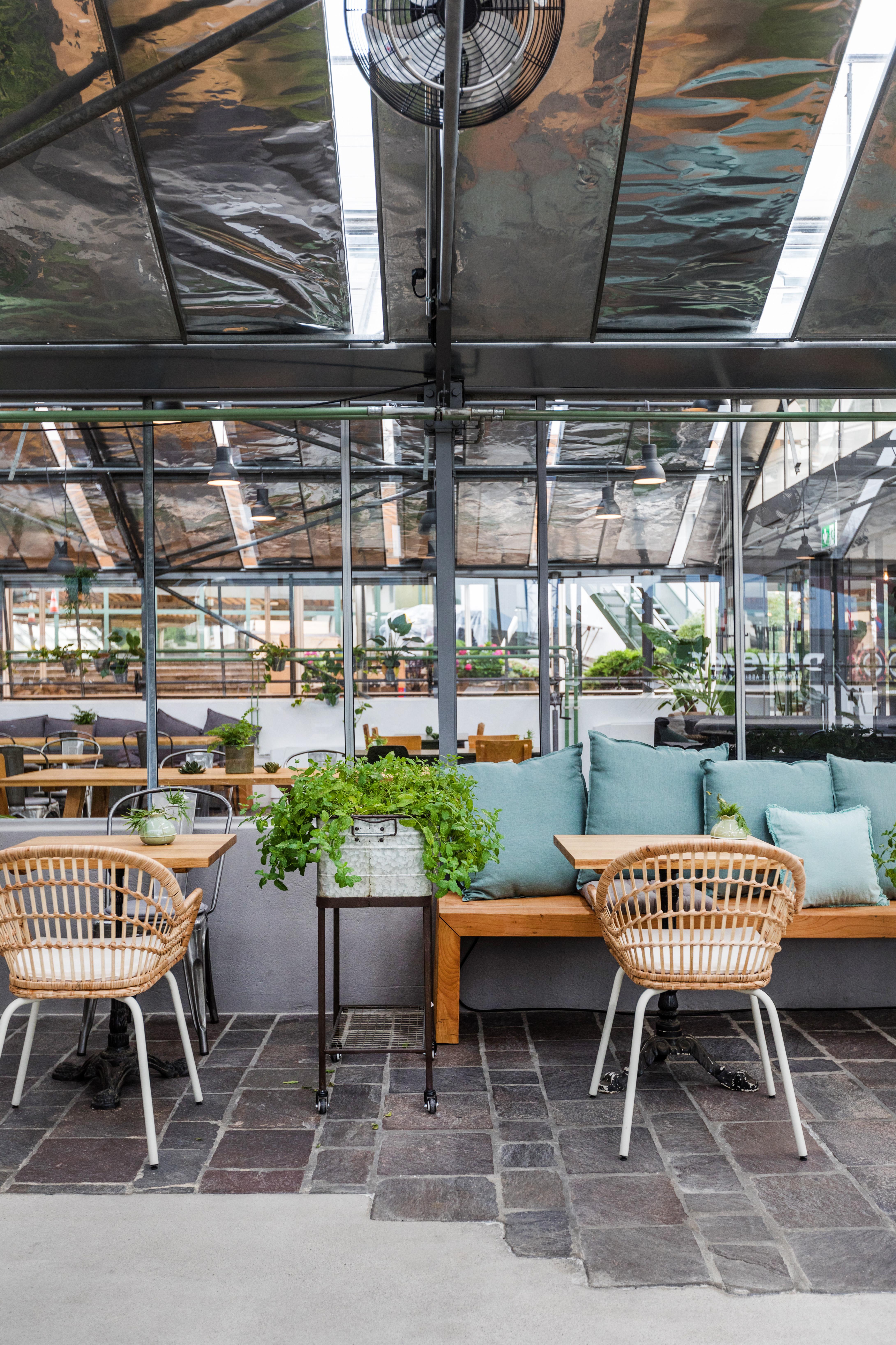 Ristrutturazione ristorante La Serra,