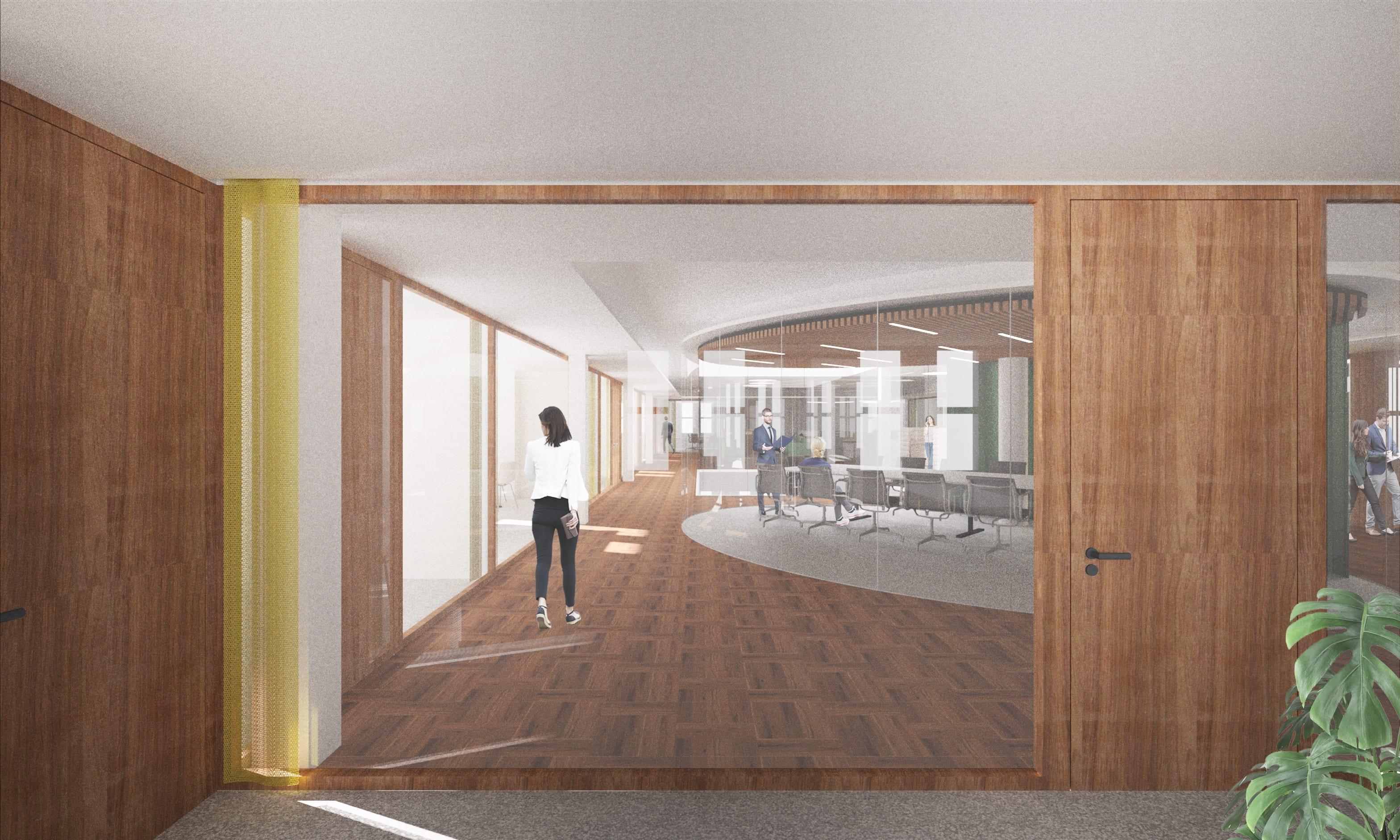 Réamenagement des espaces intérieurs administratifs